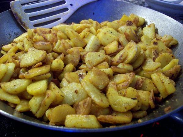 bratkartoffel roh