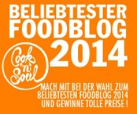 Beliebtester Foodblog 2014 - mach mit