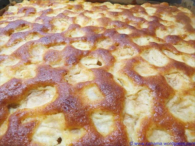 Saftiger Apfelkuchen Vom Blech Cahama