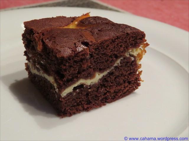 Milchmadchen Eierlikor Brownies Cahama